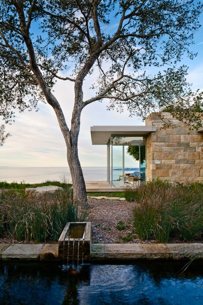 ON THE WATER: Carpinteria Foothills Residence by Neumann Mendro Andrulaitis. 2/3/2012 via @Contemporist .com