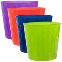 """Small Plastic Wastebaskets, 9"""" at Deals"""