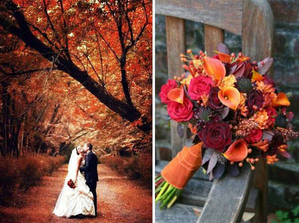 156 best autumn wedding theme images on pinterest decoration fall weddings create a fabulous setting for magnificent photos junglespirit Gallery