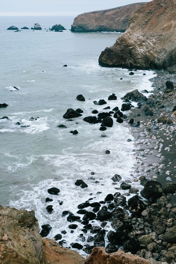 Photography adventures on a cloudy and foggy day at Rockaway Beach in Pacifica, California // WeAreAdventure.us