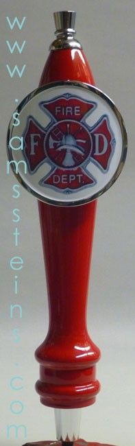 Sam's Man Cave - Fire Fighter Tap Handle, $45.00 (http://www.samsmancave.com/fire-fighter-tap-handle/)