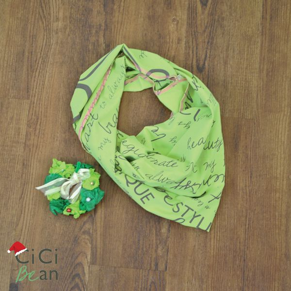 Handkerchief Scarf | CiCi Bean - clothing for tween girls. | Contact your local Play Stylist or shop online at www.peekaboobeans.com | #cicibeanstyle