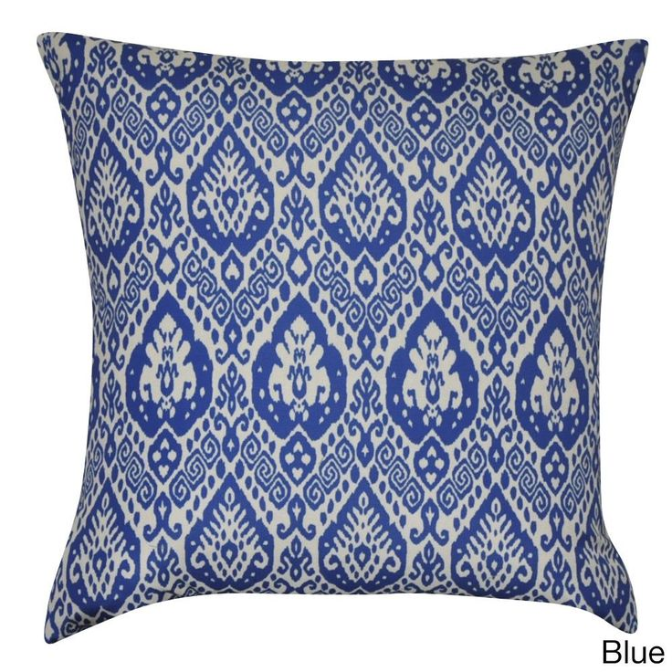 Loom and Mill 22 x 22-inch Damask Decorative Pillow (