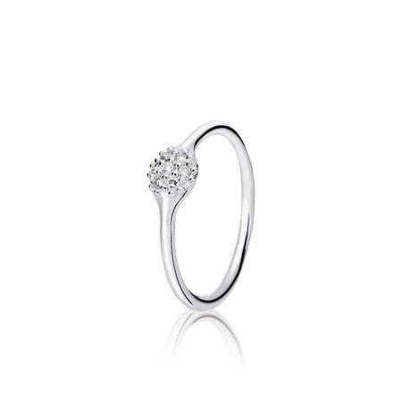 One Pod Pavé  Diamond Ring - Pandora UK | PANDORA eSTORE