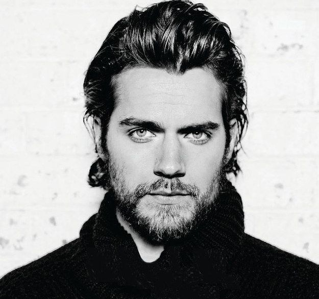 """There is just something so hot about the lips peeking out begging for a kiss ~ 19 Of The Most Breathtaking Celebrity Beard TransformationsEver. """"A man without a beard is like bread without a crust.""""— Lithuanian proverb...."""