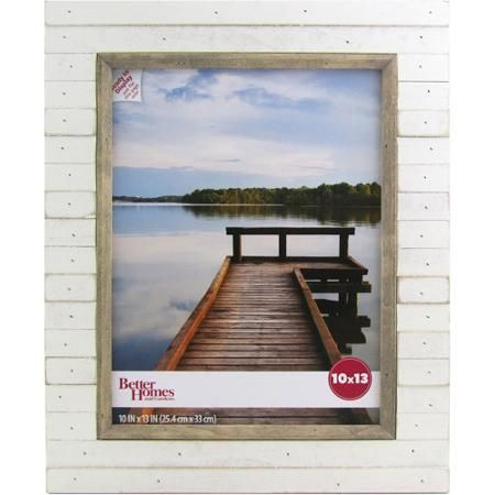 Better Homes And Gardens Oracoke 10x13 Soft White Picture