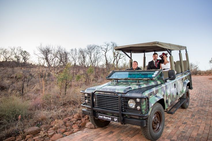 The perfect place for your bush wedding. Thaba Eco Hotel's privately owned nature reserve offers couples the perfect photo shoot opportunities