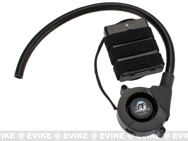 """Action Fans """"Cyclone Mike"""" Cooling / Anti-Fog Sport Fan Kit, Tactical Gear/Apparel, Head Gear, Head - Goggles - Evike.com Airsoft Superstore"""