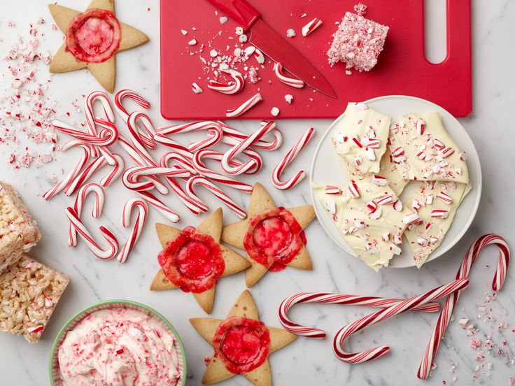 10 Holiday Treats to Make with Candy Canes : Food Network - FoodNetwork.com