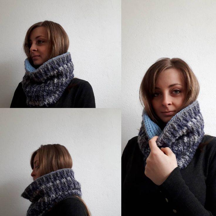 #wintercowl #staywarm #crochet #doublecowl