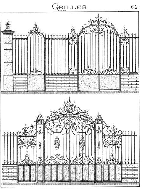 300 best wrought iron images on pinterest tools for Porte exterieur fer forge tunisie