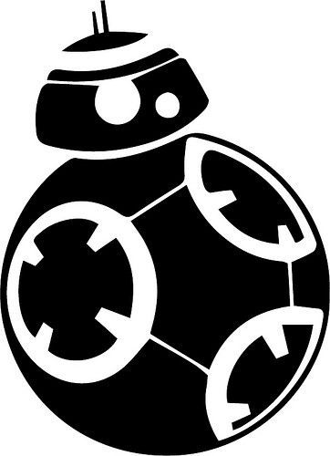 FREE SVG star wars BB8