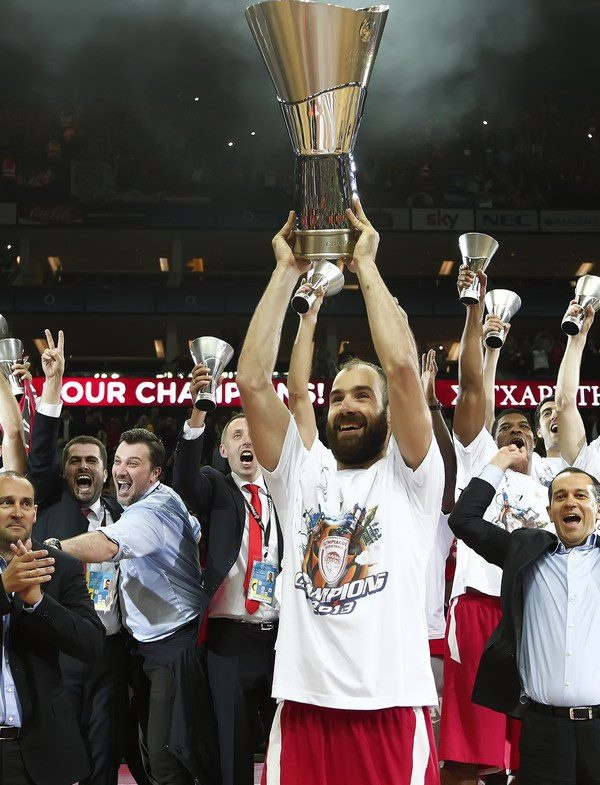 Spanoulis becomes the second player in competition history to become Final Four MVP in the same season he was named Euroleague MVP.