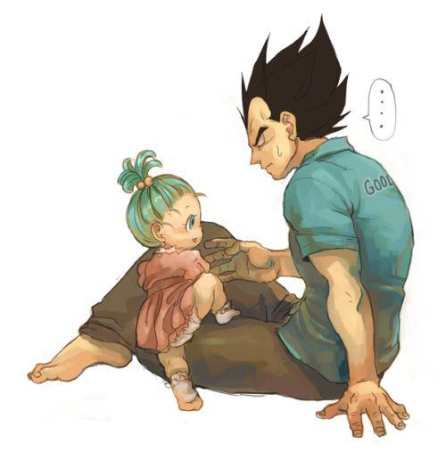 Vegeta & his little girl