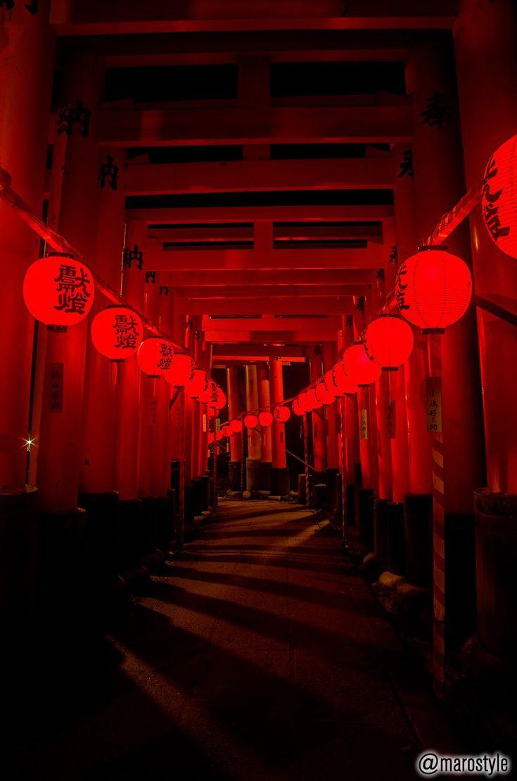 伏見稲荷大社 Fushimi Inari Taisha Shrine, Kyoto, Japan #Kyoto