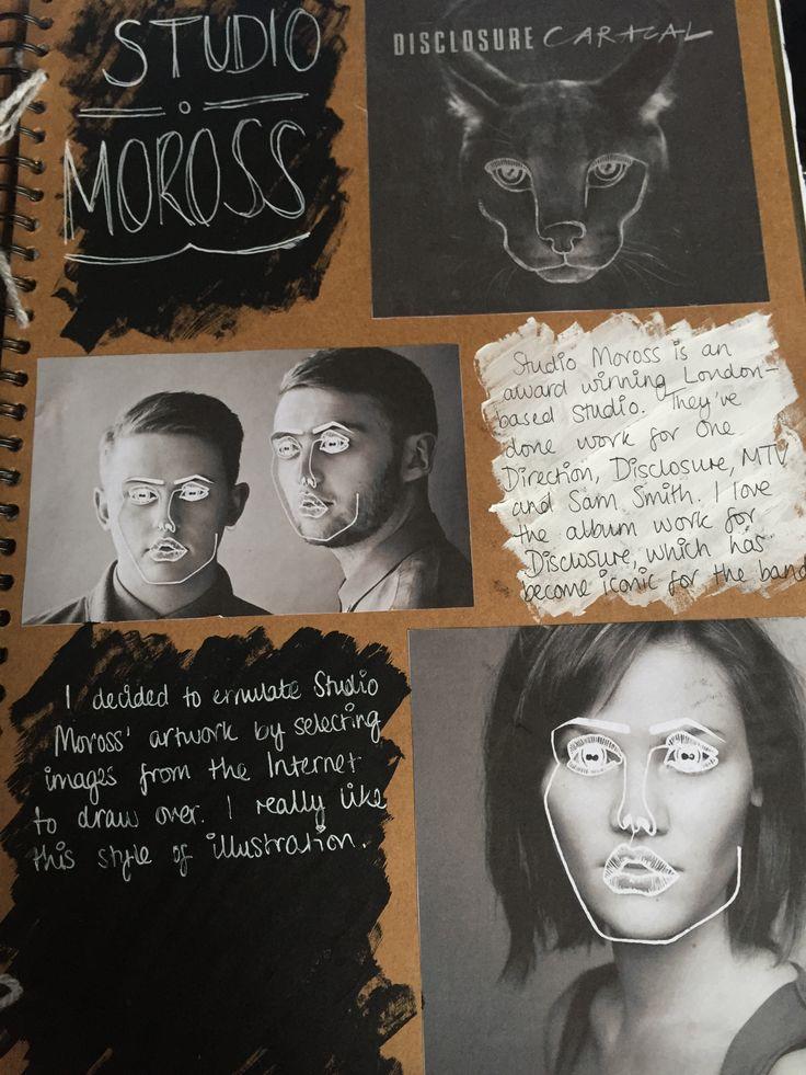 Studio Moross do outlines on people
