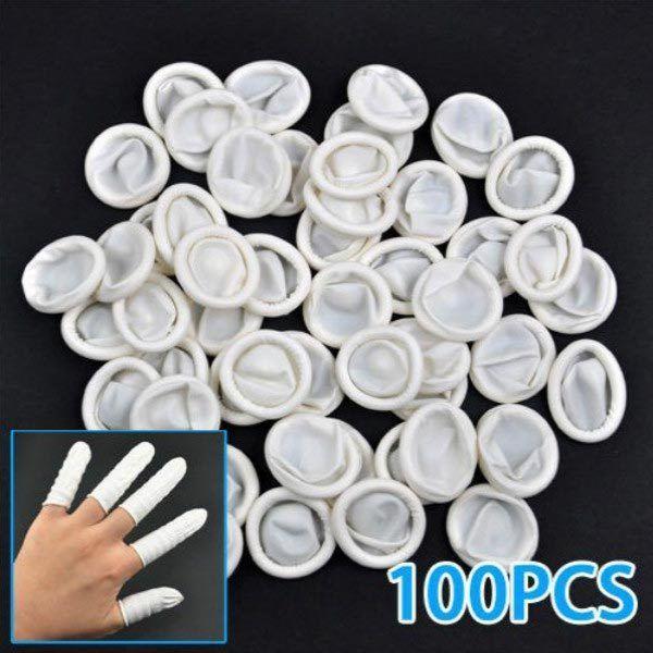 100Pcs po de luvas de protetor de bercos de dedo de borracha de latex de design: Bid: 10,82€ (£9.71) Buynow Price 10,82€ (£9.71) Remaining…