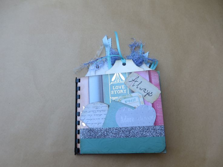 Love Story Romantic themed Paper Bag Handmade Small Junk Journal/Notebook/Art/Memory/Dream/Planner/Scrapbook/Vacation Journal by Maroonmanx on Etsy #romance #romantic #smalljournal #journal #mothersday #lovestory