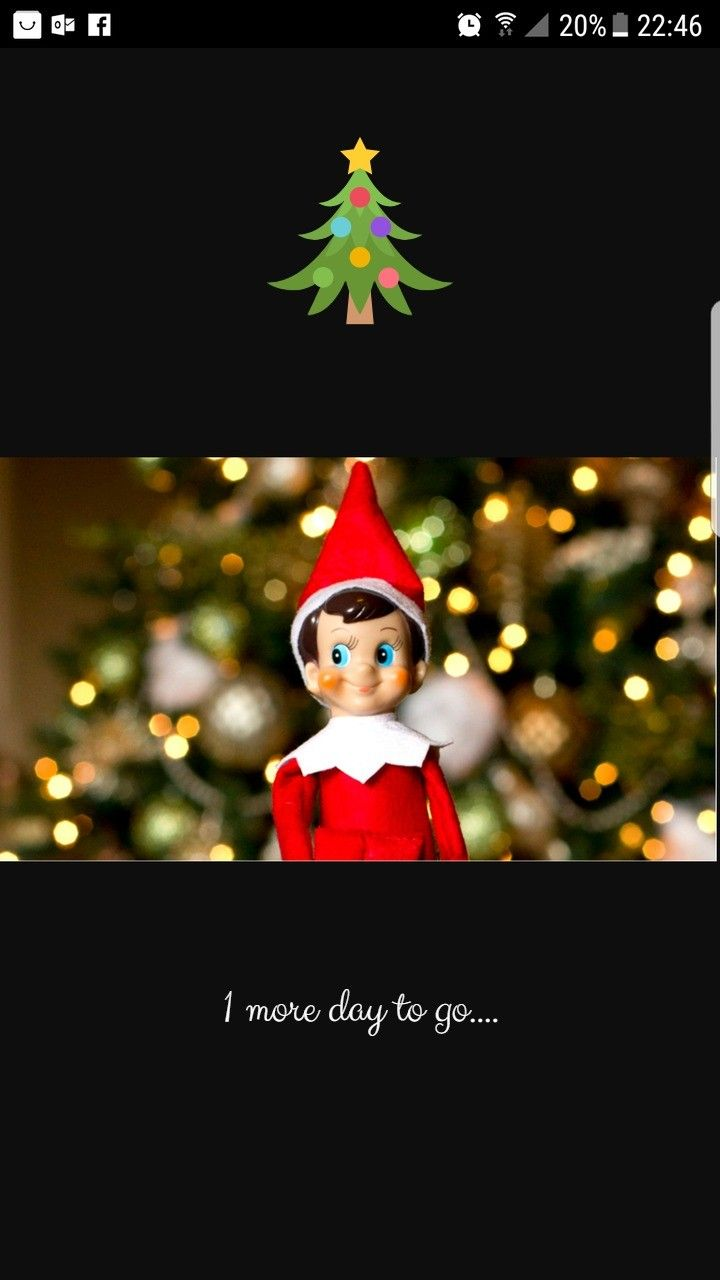 1 day to go yay.... #happy #movingtips #merrychristmas #movinghouse #elfontheshelf http://www.southcoastremovals.com🎄