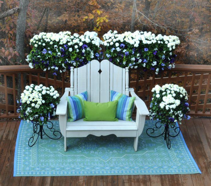 Window Box Planters-Wall Planters: Pamela Crawford » Side Planting