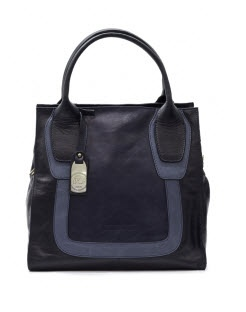 Bologna by Ripani  Stunning structured ladylike #bag with double handles and lush hardware in beautiful Italian leather.