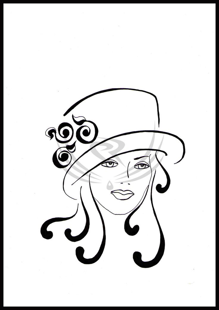 female hats -retro by ELRO66.deviantart.com on @DeviantArt