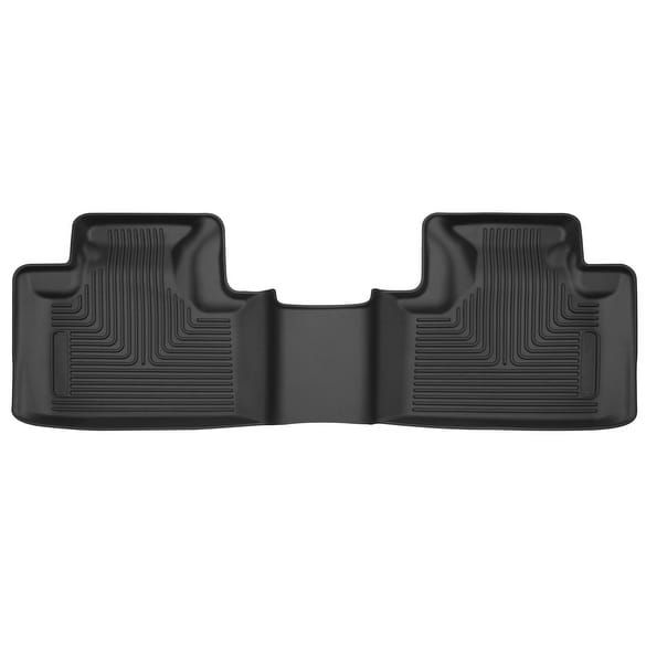Husky X-act Contour 2011-2015 Jeep Grand Cherokee 2nd Row Black Rear Floor Mats/Liners