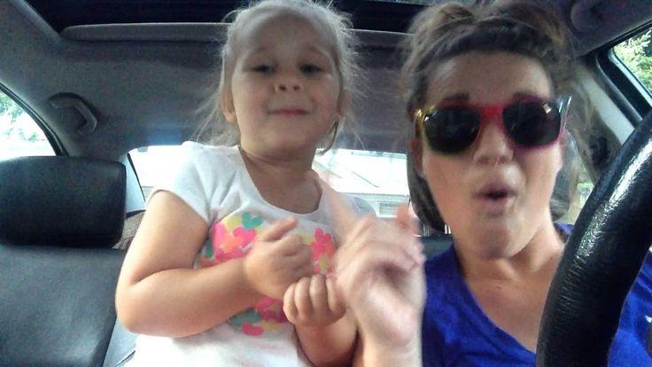 Teigan and mom singing open doors song from Frozen movie, great bond between mother and daughter