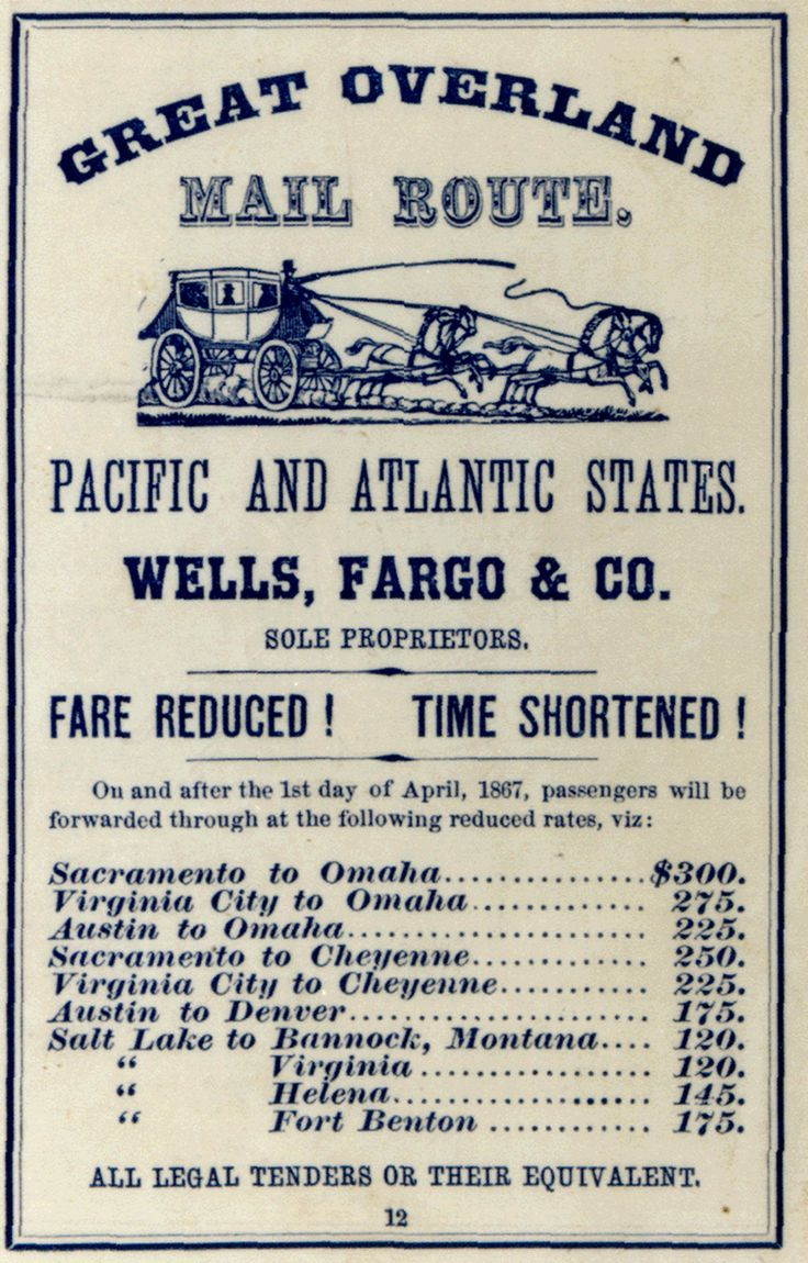 386 best pony expresswells fargo images on pinterest ponies stagecoach ad in the may 1867 publication of the california business register time from sacramento to omaha 15 days 1betcityfo Choice Image
