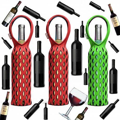 """Аксессуары на винную тему  """"Конечно, алкоголем я чрезмерно не увлекаюсь, но истинный ценитель вин до пьяна напивается редко. Хотя речь не об этом. Все очень круто смотрится, особенно красная сумка для вина, я бы в ней всегда бутылки носил...и сдавал...  шутка""""  - Саша, дизайнер gads.ru  http://gadsclub.livejournal.com/5724.html"""