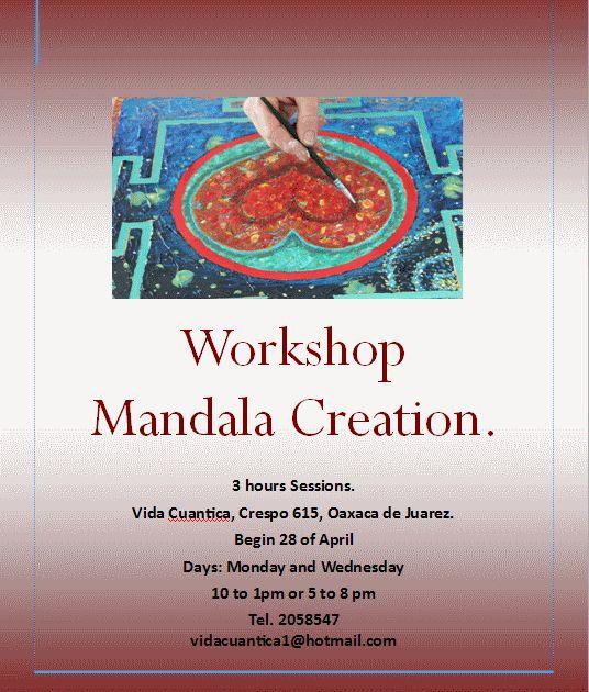 Workshop Mandala Creation