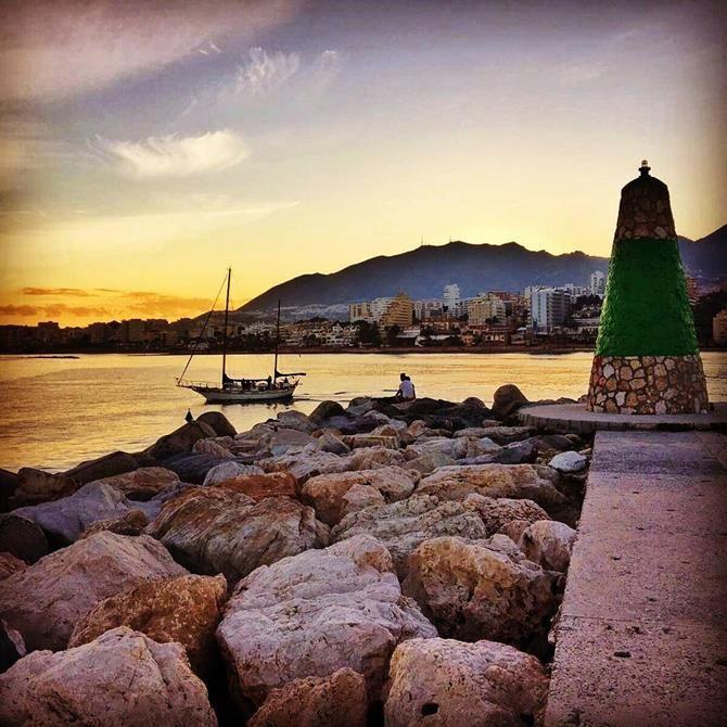 Puerto Marina à Benalmadena, Malaga - Costa del Sol (Espagne)