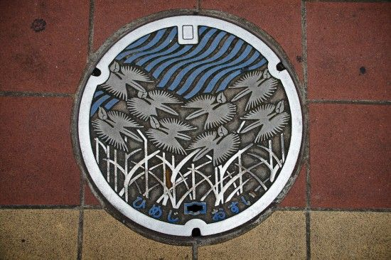 Have manholes ever looked this pretty?