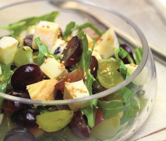 Salade des vendanges au Reblochon
