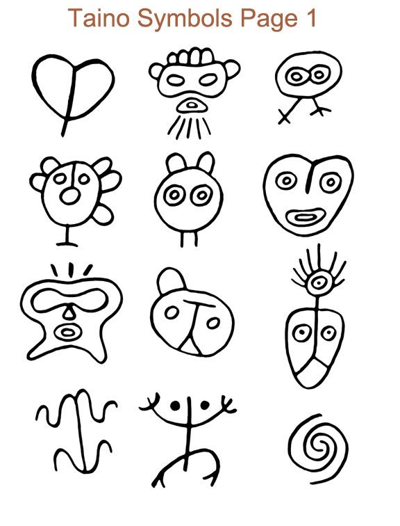 25 Best Ideas About Taino Symbols On Pinterest Puerto