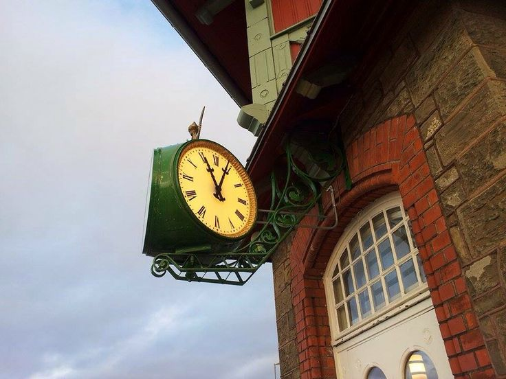 Train station clock, 1902