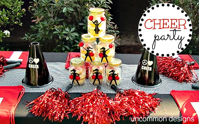 Darling Cheer Party from @Bonnie S. S. &  Trish { Uncommon Designs }