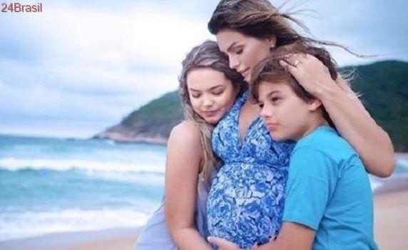 Artur chegou: Cantora Kelly Key dá à luz seu terceiro filho