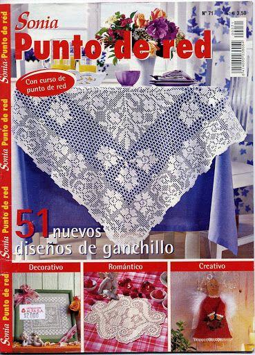 SONIA 71 - Daniela Muchut - Picasa Webalbumok...many crochet magazines here including Japanese ones and Crochet Today.....