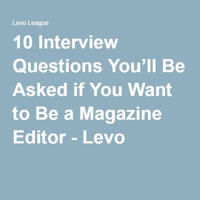 Best 25+ Magazine jobs ideas on Pinterest Branding jobs - magazine editor job description