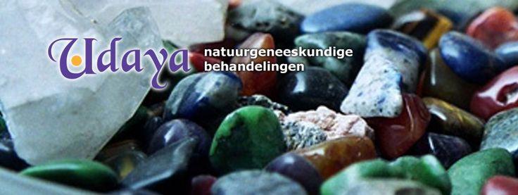 website van Udaya voetreflextherapeut www.udaya.nl