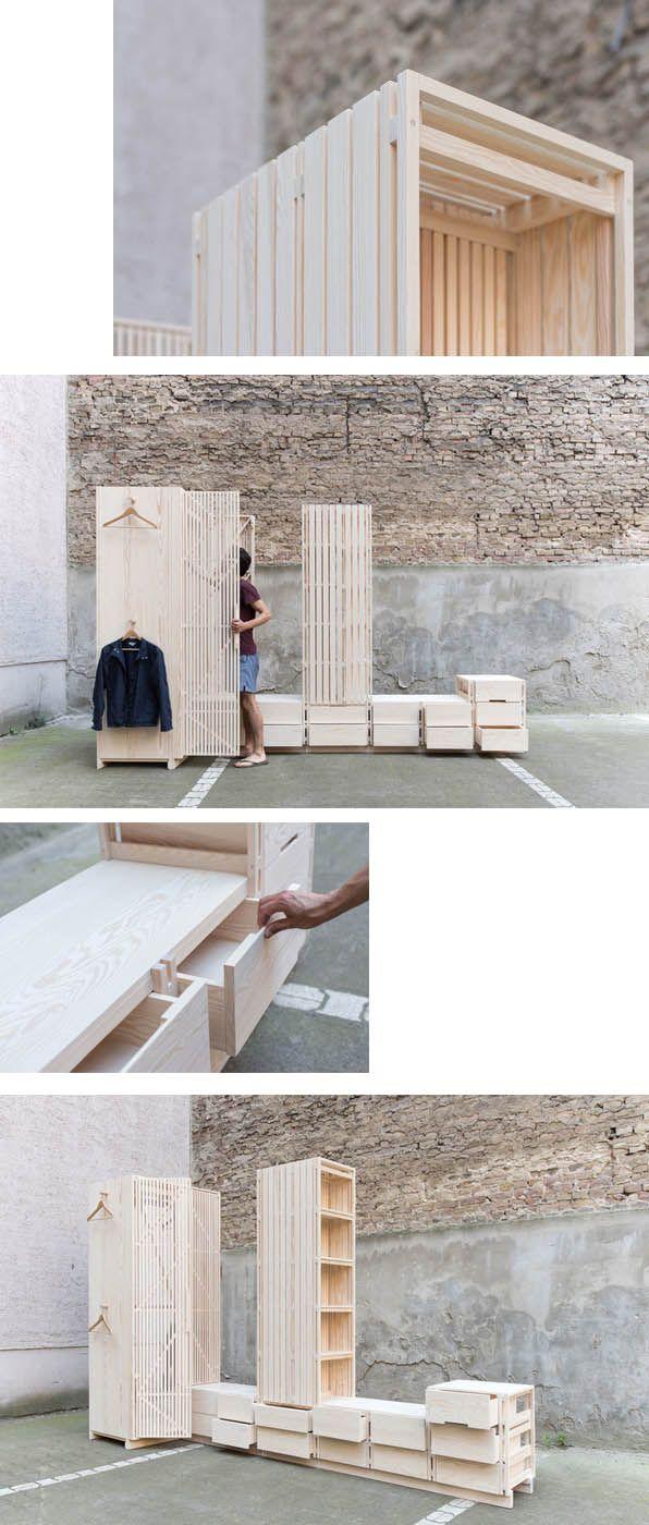 SEBASTIAN ERAZO MODULAR #FURNITURE PHOTO BY BRUNO GILIBERTO EN MODUSVIVENDI #mobiliario modular