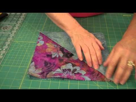 Quilting Perfect Points Achieving perfect points isn't as hard as it looks! Watch my short tutorial on how to easily achieve perfect points!