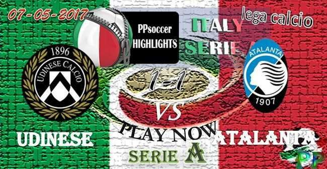 Udinese 1 - 1 Atalanta HIGHLIGHTS