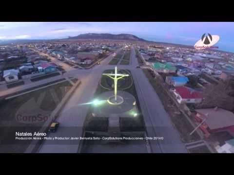 Natales Aéreo 2014 - Producción Aérea en Puerto Natales - YouTube