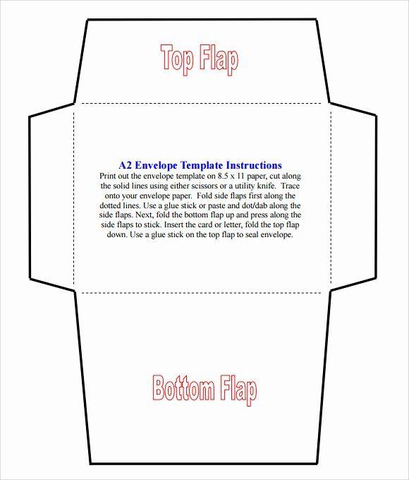 Wedding Envelope Printing Template In 2020 Envelope Template