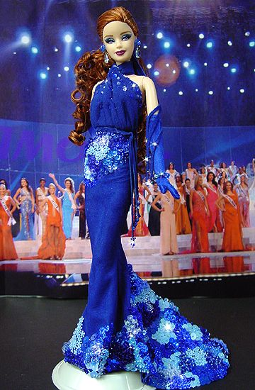 Miss Kentucky Barbie Doll 2007