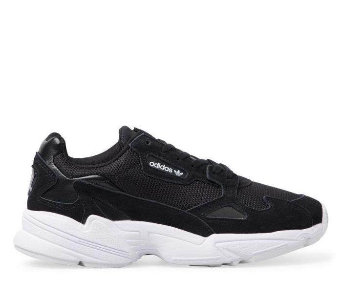 Shop Adidas Womens Falcon Black Online