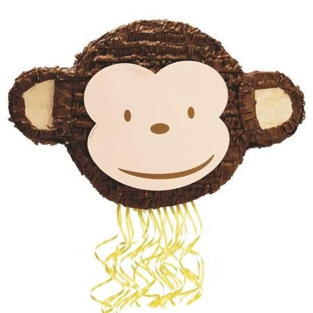 Mod Monkey Pull-String Pinata - Walmart.com