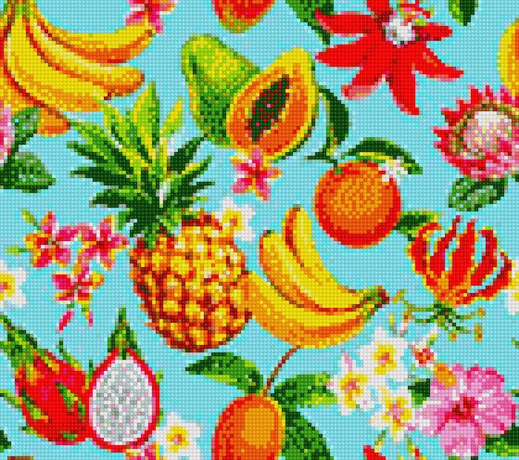 Fruit Salad Cross Stitch APP